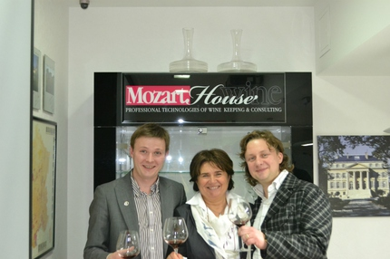 Марияграция Икарди в Mozart Wine House