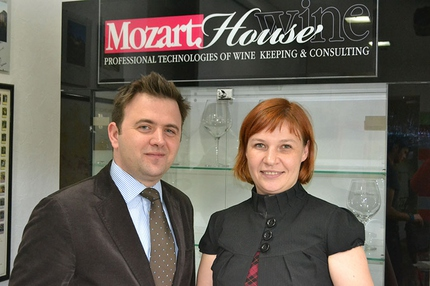 Moet & Hennessy in Mozart Wine House
