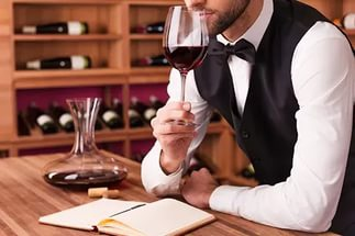 Professional course of sommelier